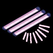 Vertical System Grow Lights